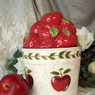 "Apple Cookie Jar - ""Country"" Bucket"