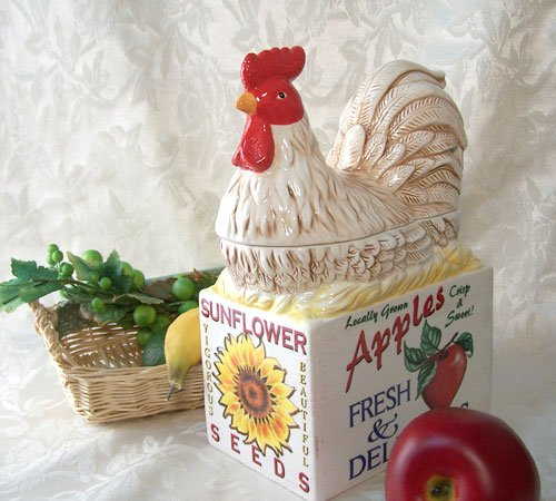 Farm Fresh Cookie Jar