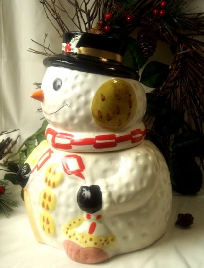 Snowman Cookie Jar
