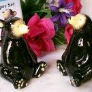 Silhouette Bears Salt & Pepper Shakers
