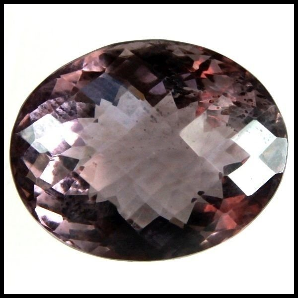 22.10 CARAT NATURALSmoky GEMSTONE OVAL SHAPE FACETED