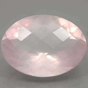 Certified  Natural Rose Ouartz  AAA Quality 7x5 mm Faceted Oval 10 pcs Lot