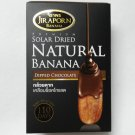 Thai Solar Dried Banana dipped Chocolate Premium Thai Snack product HTF VG