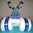 Baby Shower Tricycle Diaper cake for Baby Boy, Girl, Neutral byLittle Kgs Dreams