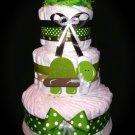 Turtle Diaper Cake Three Tier