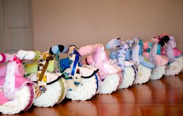 Baby Boy and Girl Diaper Cake Motorcycle by Little KG's Dreams