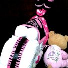 Harley Davidson Diaper Cake Motorcycle Girl Baby Shower Centerpiece By Little Kg's Dreams