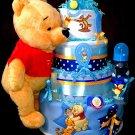 Winnie Pooh - Boy Diaper Cake By Little Kg's Dreams