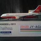JET-X BLUE BOX ALIA ROYAL JORDANIAN L-1011-500  TRISTAR