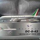 GEMINI JETS ALITALIA DC-8-43 1:400