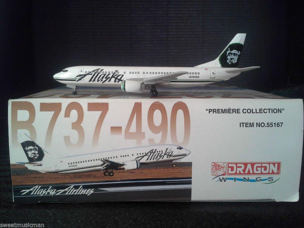 DRAGON WINGS ALASKA AIRLINES B737-490