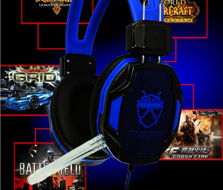Headphone with microphone for Game