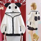 Panda Hoodie Chaqueta WH106 Kawaii Clothing
