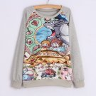 Totoro Sweatshirt Sudadera WH214 Kawaii Clothing