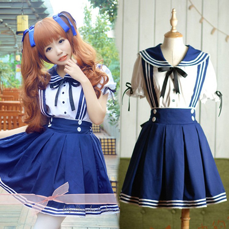 Sailor Uniform / Uniforme Marinero WH268 Kawaii Clothing