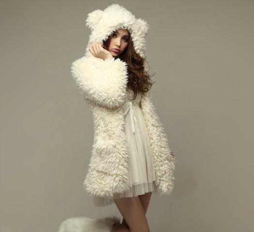 Bear Coat / Abrigo Oso WH001 Kawaii Clothing
