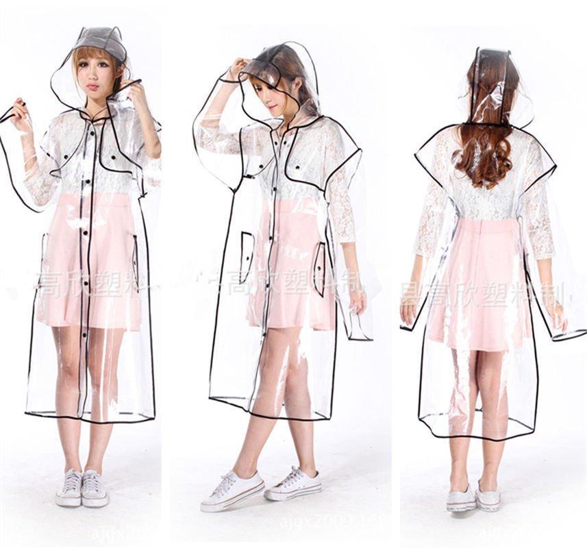 Chubasquero Transparente / Transparent Raincoat WH023 Kawaii Clothing