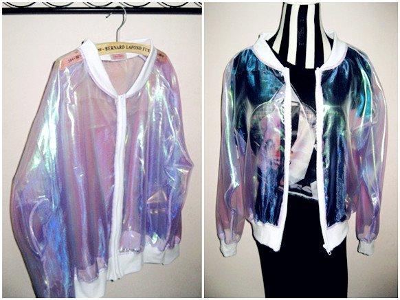 Chaqueta Holográfica / Holographic Jacket WH012 Kawaii Clothing