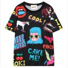 Camiseta Cool T-Shirt WH109 Kawaii Clothing