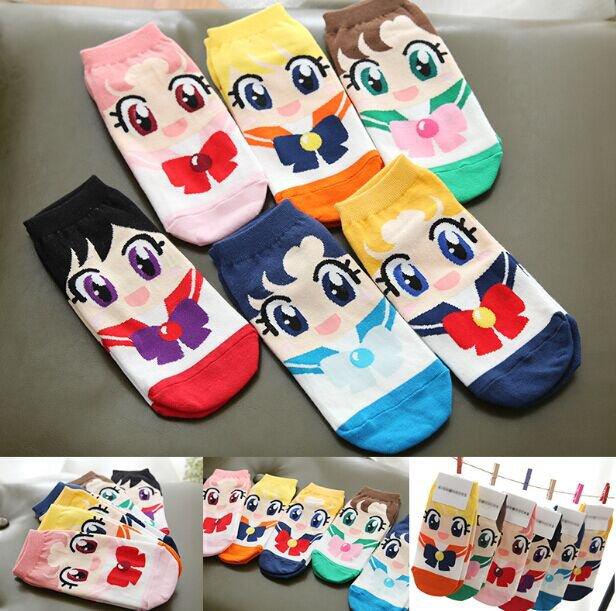 Calcetines Sailor Moon Socks WH111 Kawaii Clothing