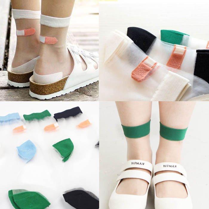 Calcetines Tiritas / Band Aid Socks WH119 Kawaii Clothing