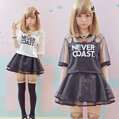 Camiseta Harajuku T-Shirt WH112 Kawaii Clothing