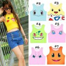 Pokemon Go Crop Top WH020 Kawaii Clothing