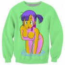 Bulma Sweatshirt Sudadera WH151 Kawaii Clothing