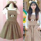 Rilakkuma Dress Vestido WH158 Kawaii Clothing
