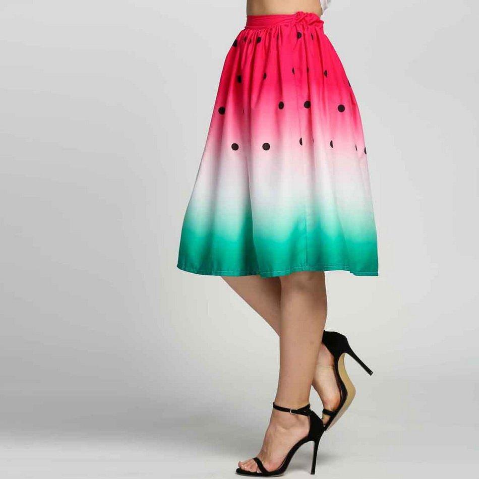Watermelon Skirt / Falda Sandia WH183 Kawaii Clothing