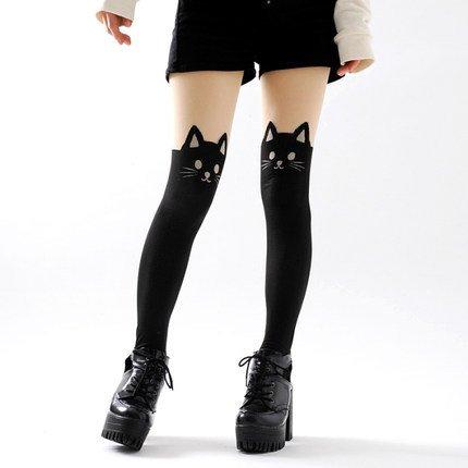 Cat Tights / Medias Gato WH209 Kawaii Clothing