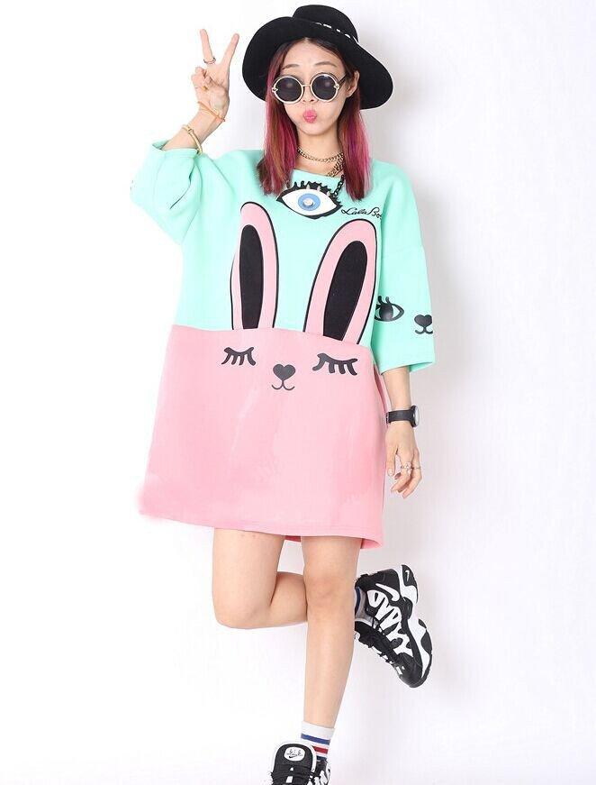 Rabbit Dress / Vestido Conejo WH407 Kawaii Clothing