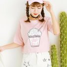 Milkshake T-Shirt / Camiseta Batido WH424 Kawaii Clothing