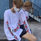 Flower Sleeves T-Shirt / Camiseta Mangas Flores WH246 Kawaii Clothing