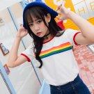 Rainbow T-Shirt / Camiseta Arcoiris WH267 Kawaii Clothing