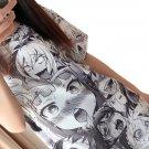 Kawaii Clothing Hentai Japanese Sexy Ahegao Face Anime T-Shirt Wh264
