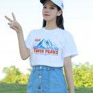 Kawaii Clothing Twin Peaks T-Shirt David Lynch Mountains Top WH287
