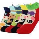 Kawaii Clothing Cartoon Ariel Elsa Fiona Cute Princess Socks WH116