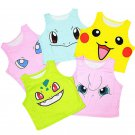Kawaii Clothing Anime Pikachu Japan T-Shirt Pokemon Go Crop Top WH020
