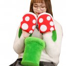 Kawaii Clothing Mario Plant Plush Slippers Shoes Videogame Japan WH395