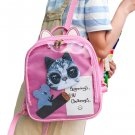Kawaii Clothing Transparent Backpack Bag Cat Jpop Kpop Badges WH231