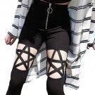 Pentagram Punk Gothic Black Star Pants Sexy Emo Kawaii Clothing Wh115