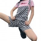 Kawaii Clothing Plaid Japan Ska Checker Playsuit Jumpsuit Romper WH169