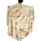 Kawaii Clothing Mexican Burrito Tortilla Blanket Funny Mexico WH371