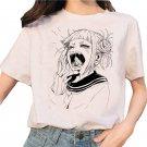 Kawaii Clothing Anime Yawn Girl T-Shirt Otaku Harajuku Japanese WH505