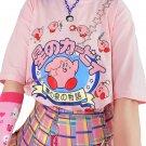 Kawaii Clothing Kirby T-Shirt Japanese Game Videogame Harajuku Anime Otaku WH214