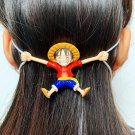 Kawaii Clothing Head Band Protector Mask Ear Cartoon Anime Funny One Piece WH301
