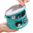 Kawaii Clothing Canned Fish Food Cat Travel Bag Box Cosmetic Makeup Harajuku Cute WH019