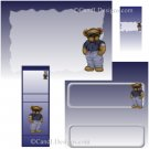 Cool Bear Candy Wrapper/Party Favors Set [dl078]