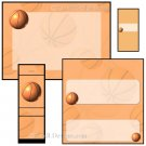 Basketball Candy Wrapper/Party Favors Set [dl035]